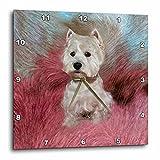 Cheap 3dRose dpp_4054_2 Westie Wall Clock, 13 by 13-Inch