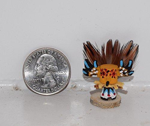 Miniature Masked Owl Kachina (Kachina Owl Doll)