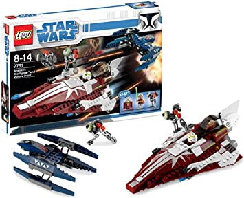 lego star wars set 7751 clone wars ahsokas starfighter and droids by lego - Lego Star Wars Vaisseau Clone