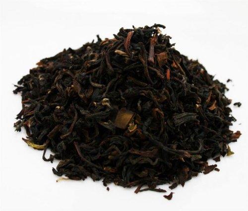 DARJEELING FTGFOP1 SECOND FLUSH MAHARANI HILLS - black tea - in a Tea Caddy - Ø 170 mm, height 220 mm (1 Kilo)