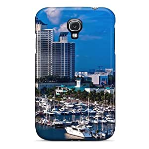 High Quality Shock Absorbing Case For Galaxy S4-miami Shipping Port