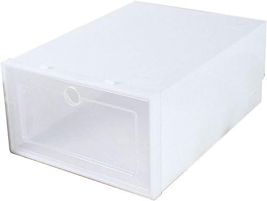 Miya Caja de Cajas de cajón de plástico Duradero Caja de Zapatos ...