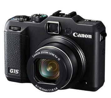 CANON G15 - Cámara de fotos digital + Funda semi rígida SLM-C200 ...