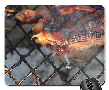 Amazon.com: Alfombrillas de ratón – barbacoa parrilla cocina ...