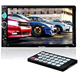 Sound Boss SB-7010B 7-inch Double Din Touch Screen with Bluetooth