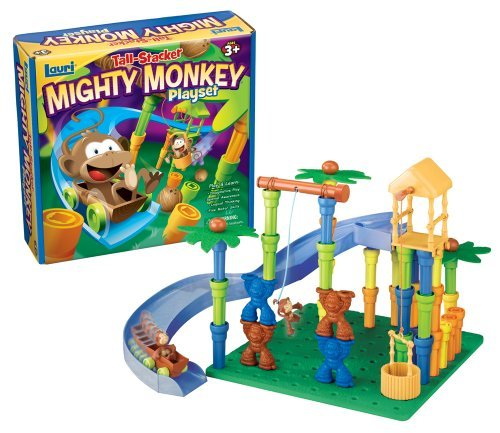 Lauri Tall-Stackers Mighty Monkey Playset