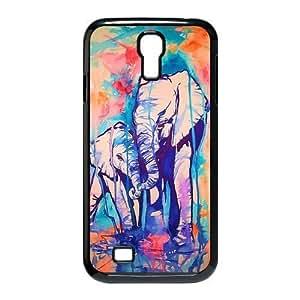 Customiz Animal Aztec Elephant Back Cover Case for Samsung Galaxy S4 i9500