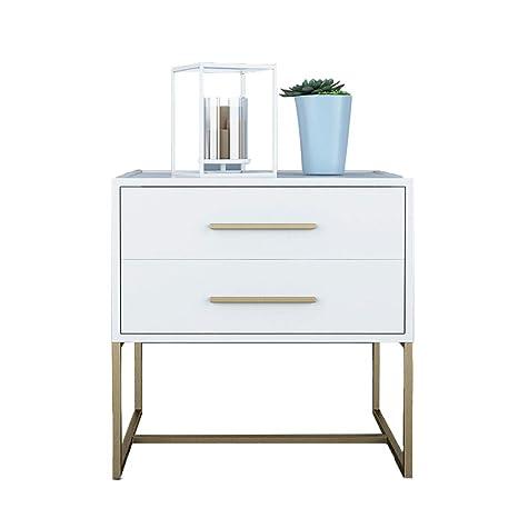best website b02c8 603cf Amazon.com: Nightstands Bedside Table Night Stand Bedroom ...