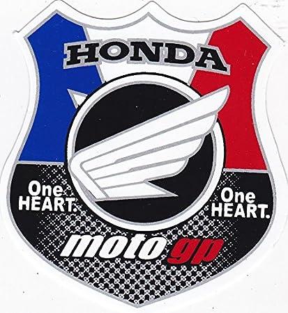 STICKER 563B] ONE HEART H O N D A MotoGp : Notebook Motor