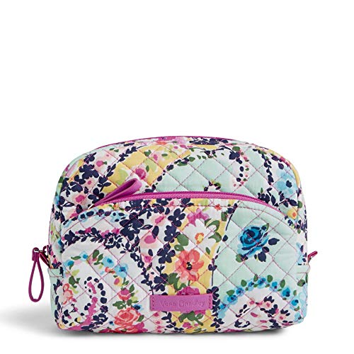 (Vera Bradley Iconic Medium Cosmetic, Wildflower Paisley)