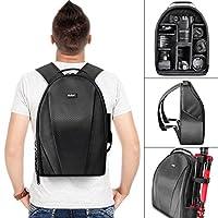 Bolsa de mochila para cámara réflex digital, lente y accesorios