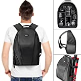 Vivitar Digital DSLR/SLR Camera Backpack - This lightweight camera backpack is designed to hold all your photographic equipment in full comfort.- Features soft, nylon material that keeps your devices and accessories safely cushioned. Ideal fo...