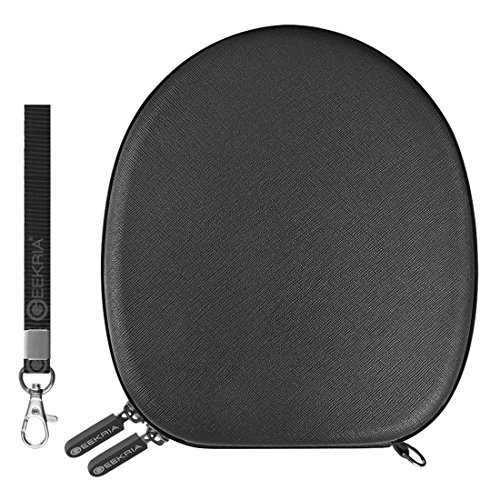 - Geekria UltraShell Headphones Carrying Case, Compatible with QuietComfort QC35, QC25, QC15, AE, AE2, AE2I, AE2W, HAS160, HANC250, HANC120 and More - Protective Hard Shell Headset Travel Bag