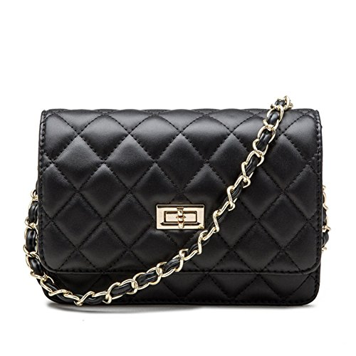 Quilted Small Shoulder Bag - 5