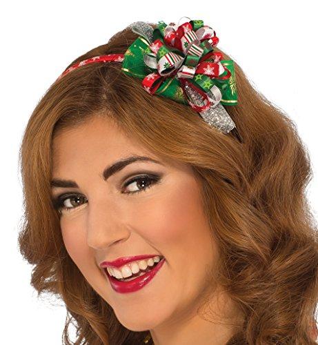 Rubie's Costume Women's Clausplay Christmas Headband, Multi-Colored, One Size