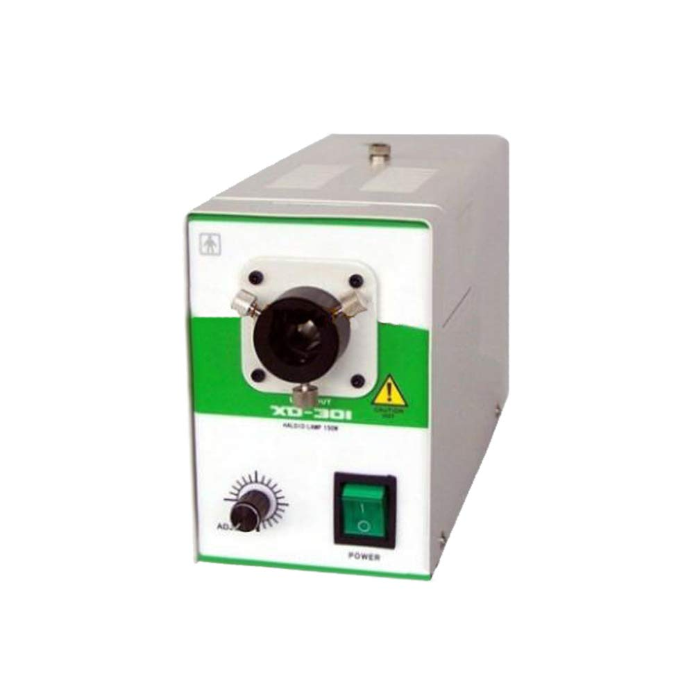 Halogen Cold Light Source Fiber Optic Microscope Light Oral Endoscope 95-240V 150W (Without Metal Pipe)