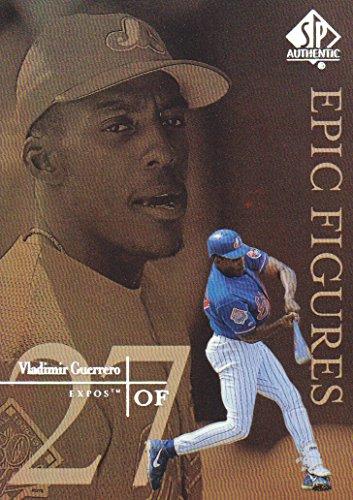 1999 Upper Deck SP Authentic Baseball Epic Figures #E17 Vladimir Guerrero Montreal Expos