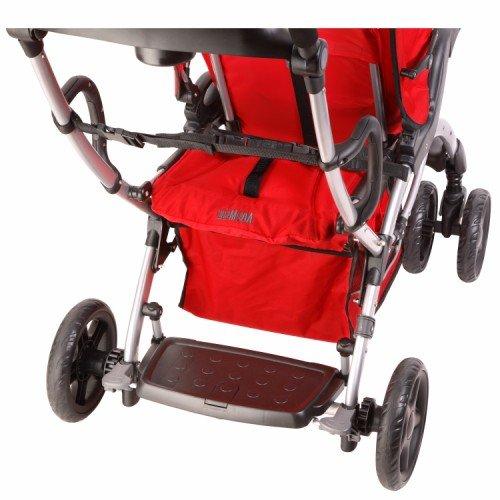Dream On Me/Mia Moda Compagno Stroller, Rosso