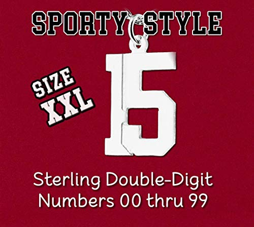 Your Choice Double 2 Digit Number XXL Size