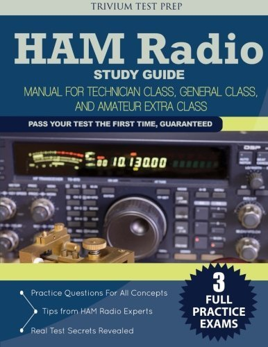 By Ham Radio Study Guide Team - Ham Radio Study Guide: Manual for Technician Class, General Class (2015-02-04) [Paperback]
