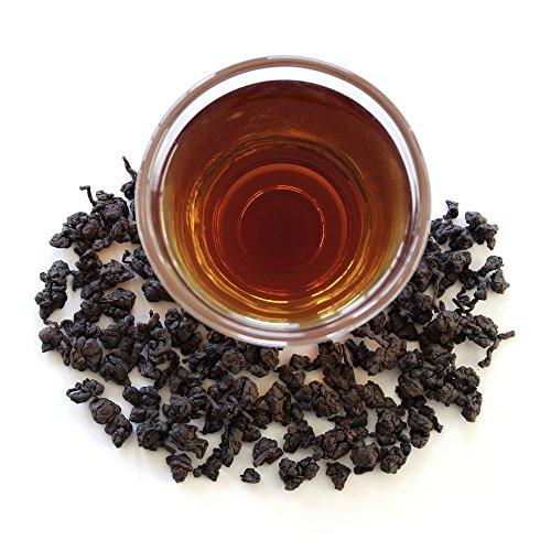 Teamalchi Taiwan Natural Premium Loose Leaf GABA Oolong Tea, decaffeinated, for stress relief, reduce anxiety, sleep aid, weight loss aid