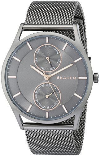 Skagen-Mens-SKW6180-Holst-Grey-Mesh-Watch