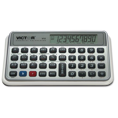 Victor 825 Victor Financial Calculator