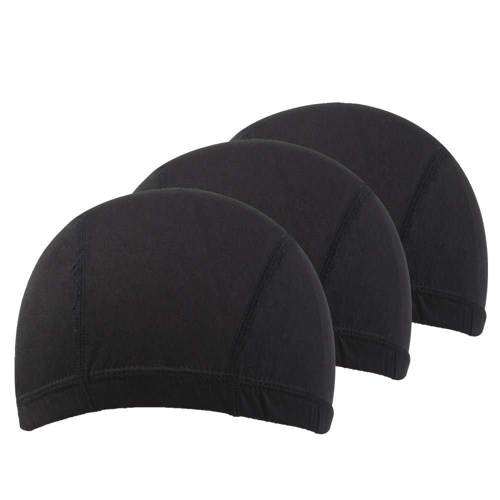Dome Caps For Wigs 12 Pcs Stretchable Wigs Cap Spandex Dome Wig Caps For Men Women by YOUNIQUE (Image #8)