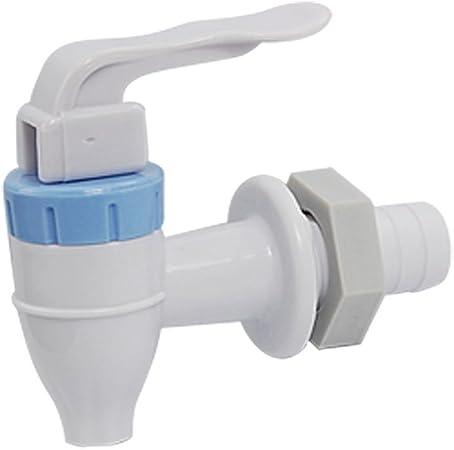 Rouge Poign/ée en plastique blanc /à poussoir Type de robinet pour distributeur deau