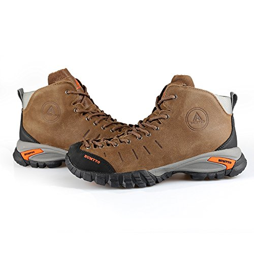 HUMTTO Hiking Shoes Men and Women Outdoors Walking Climbing Boots 3907 Khaki jBnaDKw8