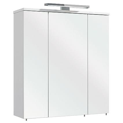 Xora Mirror Cabinet 65 X 72 X 20 Cm Made Of Wood Amazon Co Uk