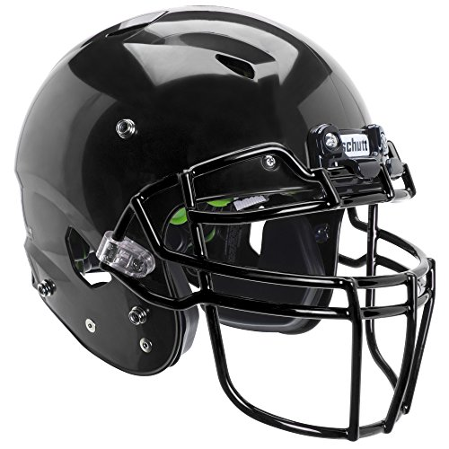 Schutt Sports Vengeance A3+ Youth Football Helmet (Facemask NOT Included), Black, Large