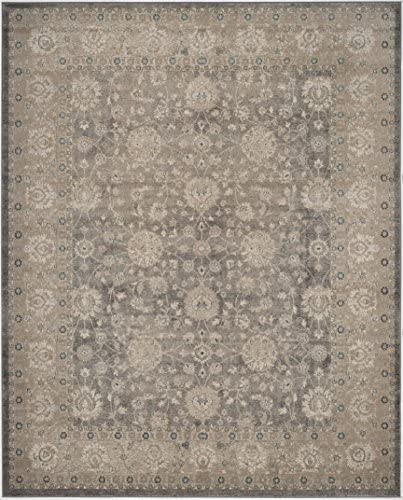Safavieh Sofia Collection SOF330B Vintage Light Grey and Beige Distressed Area Rug 11' x 15'