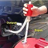 Niome Portable Manual Transfer Pump Sucker Siphon Hose for Gas Oil Water Liquid
