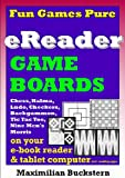 eReader Game Boards–Fun Games Pureon youre-bookreader & tablet computer incl. reading apps: Chess, Checkers, Nine Men's Morris, Backgammon, Ludo, Halma & Tic Tac Toe as classic board games