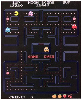Pac Man Namco Classic Video Game 45x60 Fleece Throw Blanket