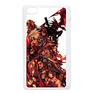 Dirge Of Cerberus Final Fantasy Vii 3 funda iPod Touch 4 caja funda del teléfono celular blanco cubierta de la caja funda EEECBCAAB14046