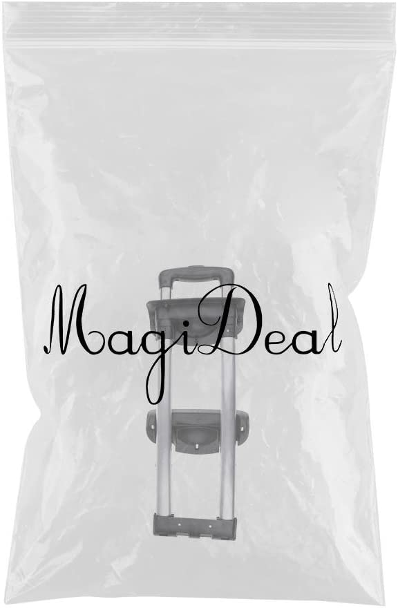 MagiDeal Telescopic Luggage Handle Case Aluminium Alloy Rod Universal for G003 Model three bars