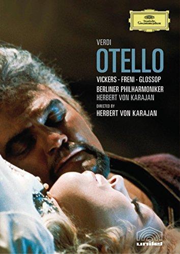 Verdi - Otello (Von Karajan) (Region 0) (NTSC) [1974] [DVD] [2005] by Peter Glossop B01I075P86