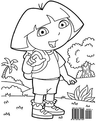 14 dora the explorer coloring page to print - Print Color Craft | 400x319