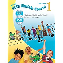 Alfred's Kid's Ukulele Course 1: The Easiest Ukulele Method Ever!, Book, CD and DVD