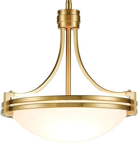 Brass Glass Pendant Light