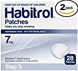 Novartis Habitrol 7mg Nicotine Patches, Step 3. Stop Smoking. 2 boxes of 28 each (56 patches) 7 MG