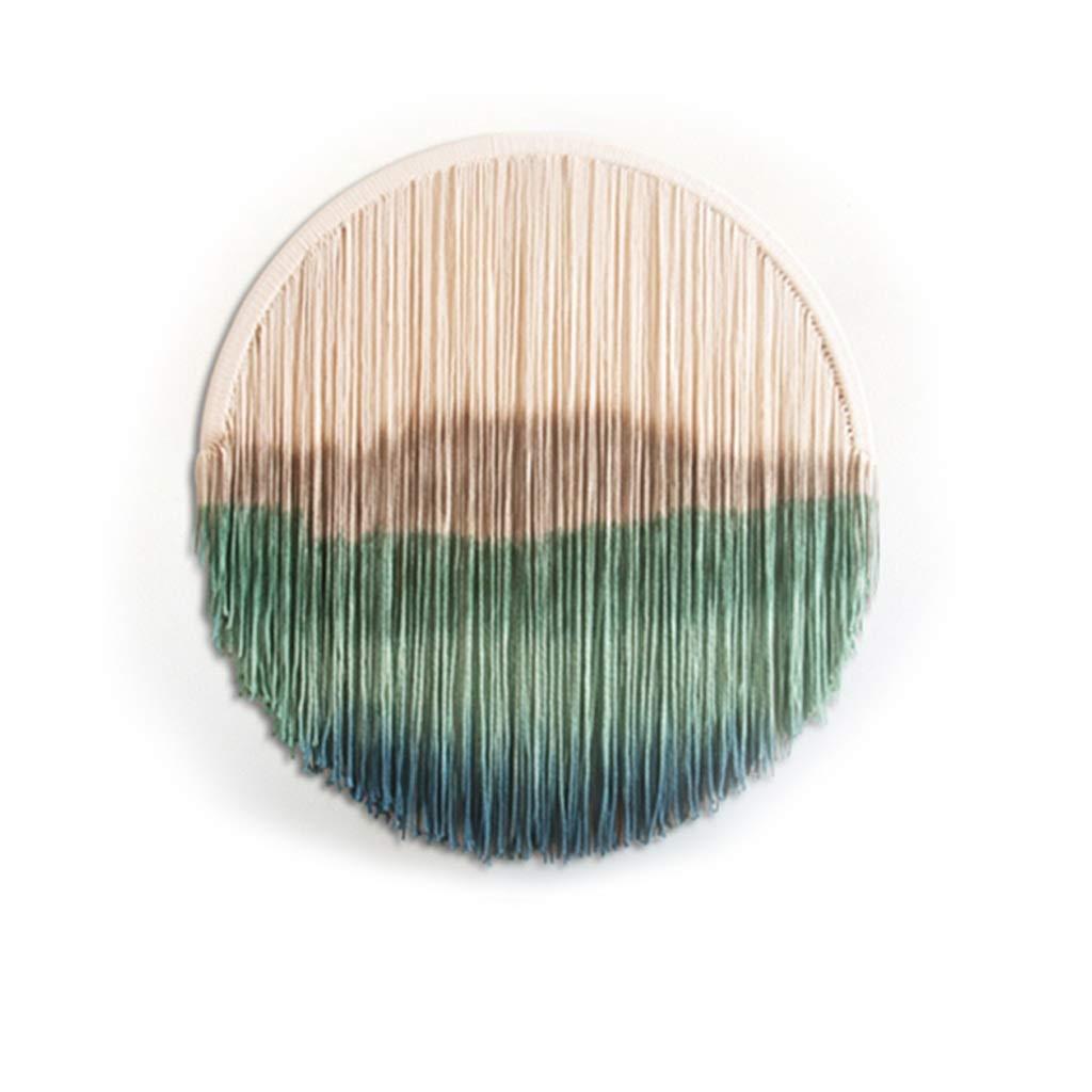 タペストリー - 綿タペストリー壁タペストリー手織りタペストリー壁装飾画ラウンド (サイズ さいず : 120cm) 120cm  B07JHM8Y4V