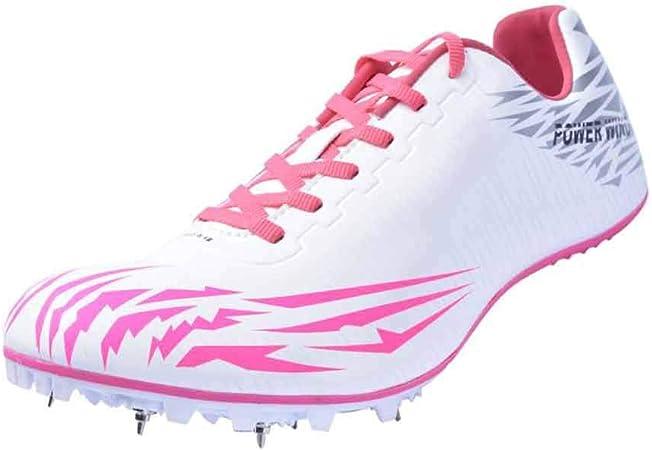 FJJLOVE Zapatillas de Atletismo Unisex Zapatillas de Cricket de ...