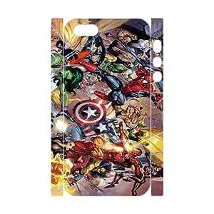 iphone 5 5s Cell Phone Case 3D Comics Marvel civil war TREB6086126106158