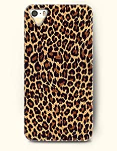 Phone Case For iPhone 5 5S Sexy Leopard Pattern - Hard Back Plastic Case / Animal Print / OOFIT Authentic by supermalls