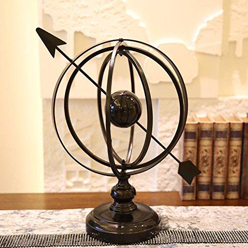 KTYXDE European Model Study Bookcase Iron Globe Decoration Crafts Ornaments from KTYXDE