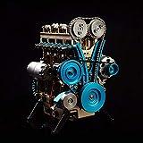 color tree 4気筒エンジンモデルキットスターリングモーターモデル教育玩具グレートギフ