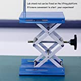OESS Lift Table Aluminium Oxide Lab Stand Lifter